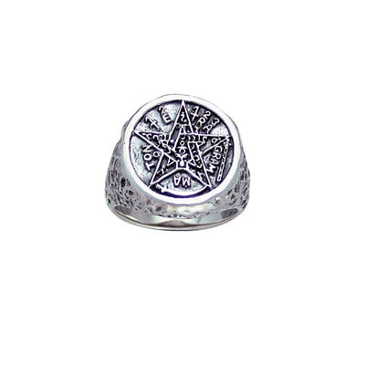 Seal of Solomon Silver Ring TR3767