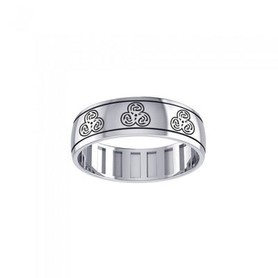 Dragon Triskele Spinner Ring TR3782