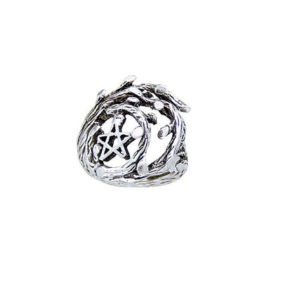 Silver The Star Ring TR3786