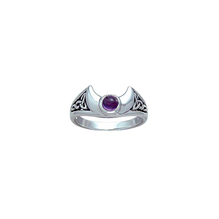 Blue Moon Silver Ring TR3795