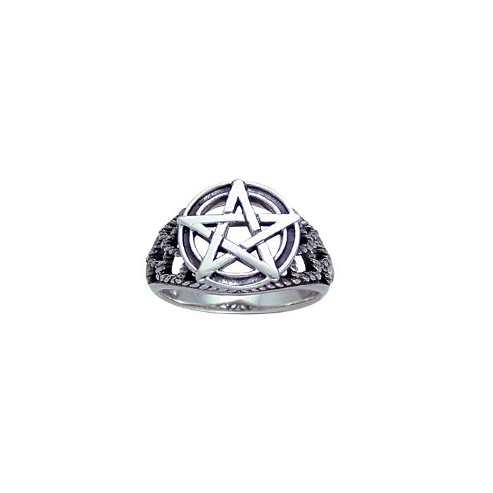 Silver The Star Ring TR3804