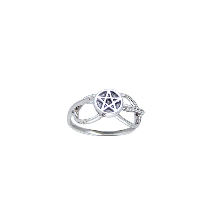Silver The Star Ring TR3807