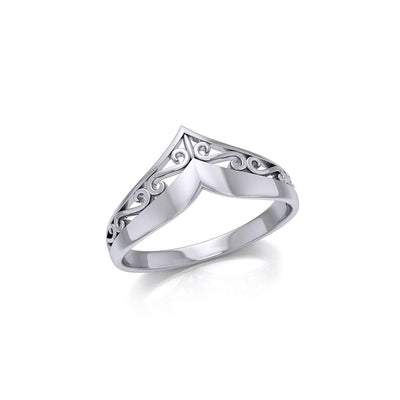 Celtic Knotwork Sterling Silver Ring TR417