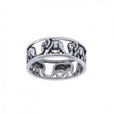 Elephant Herd Ring TR573