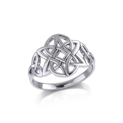 Celtic Knotwork Sterling Silver Ring TR667