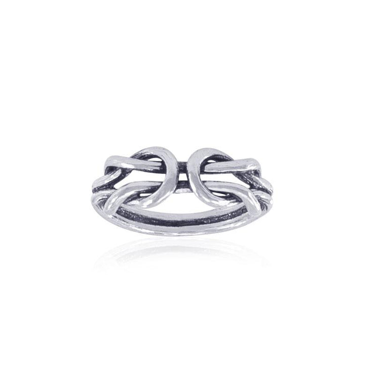 Celtic Knot Work Sterling Silver Ring TR722