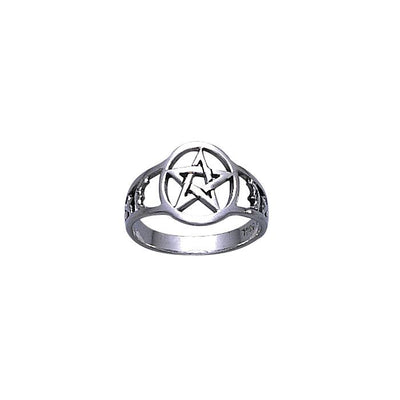 Silver The Star Ring TR731