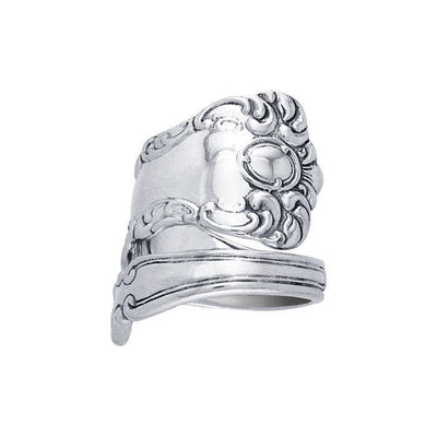 Silver Spoon Ring TR824