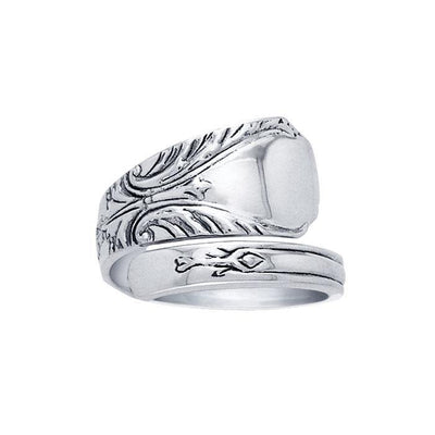Silver Spoon Ring TR826