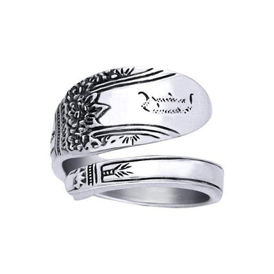 Silver Spoon Ring TR827
