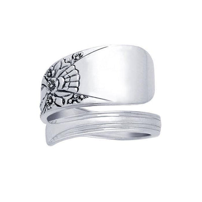 Silver Spoon Ring TR830
