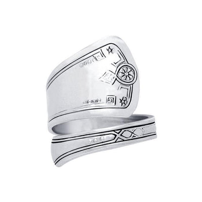 Silver Spoon Ring TR832