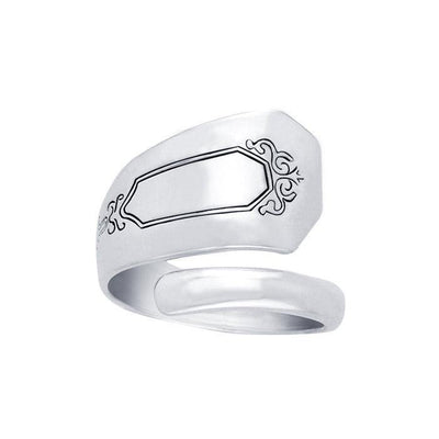 Silver Spoon Ring TR834