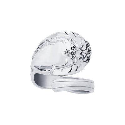 Silver Spoon Ring TR837