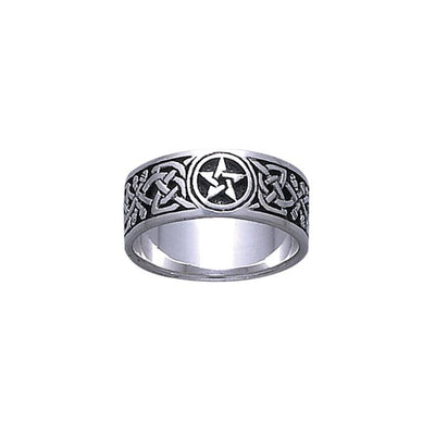 Silver The Star Ring TR876
