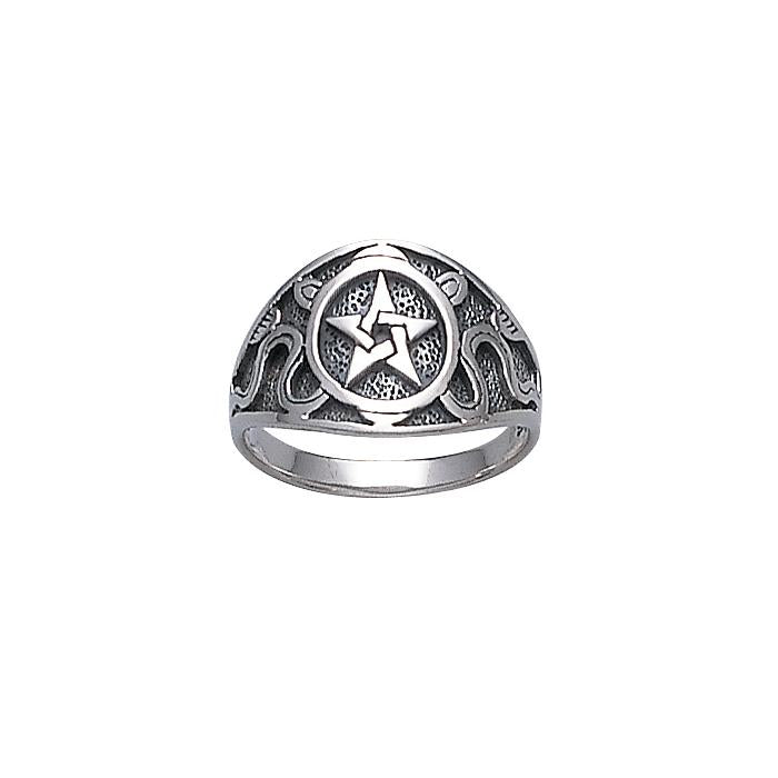 Silver The Star Ring TR878