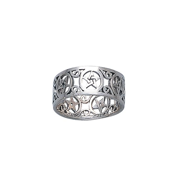 Silver The Star Ring TR883