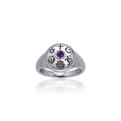 Shield Of Faith Ring TRI053