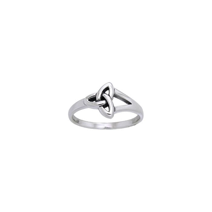 Celtic Trinity Knot Silver Ring TRI1009