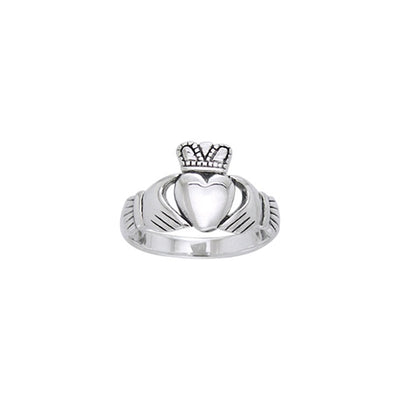 Celtic Claddagh Ring TRI1118