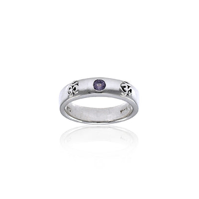 OM Expression of Spiritual Perfection TRI1217 Ring