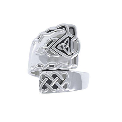 Celtic Spoon Ring TRI1304