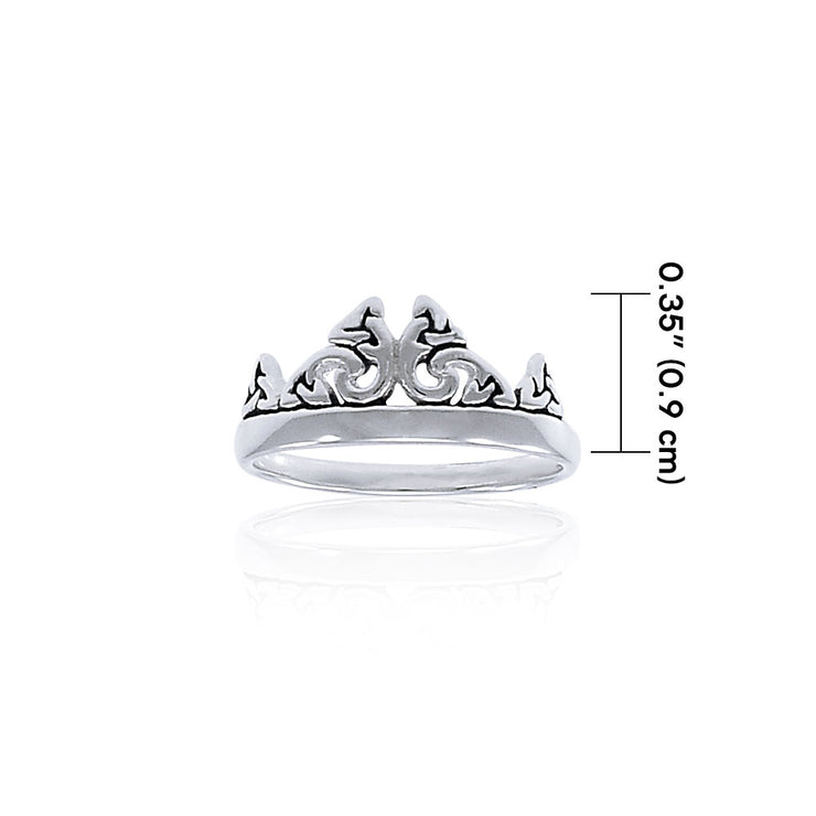 Triquetra Crown Ring TRI1337