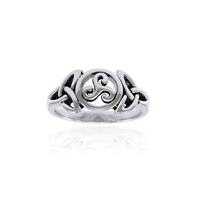 Celtic Trinity Knot Ring TRI1343