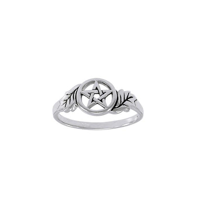 Oak Leaf The Star Ring TRI1365