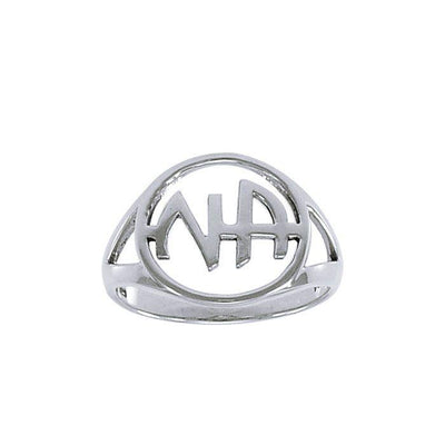 NA Recovery Symbol  Ring TRI1386