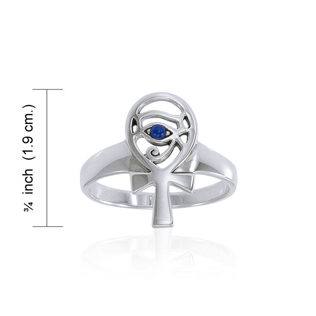 Eye of Horus Ring TRI1545 Ring