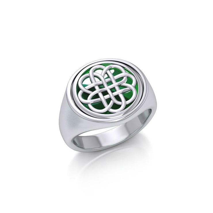 Celtic Knotwork Flip Ring TRI156 Ring