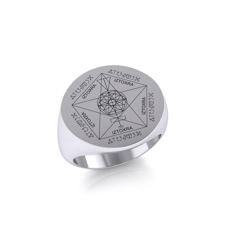 Highest Sigil Silver Ring TRI1893