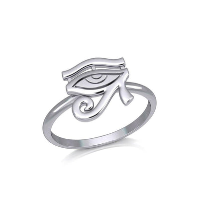 Beyond the symbolism of the Eye of Horus Silver Ring TRI2056