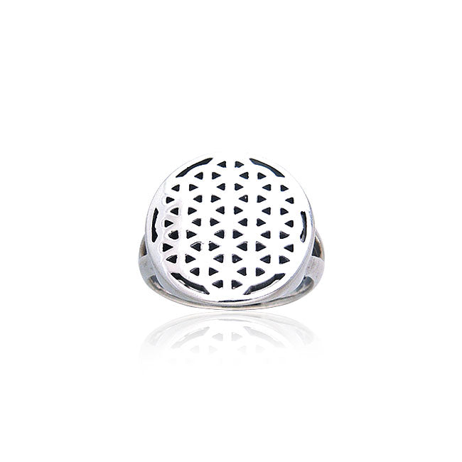 Flower Of Life Ring TRI209