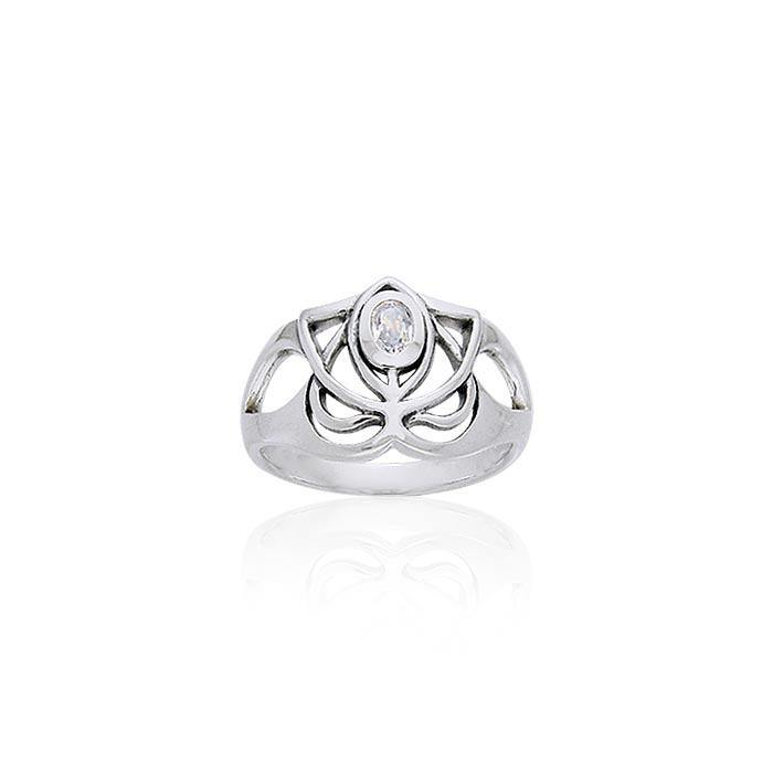 Art Deco Silver Ring TRI216 Ring