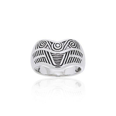 Art Deco Silver Ring TRI236