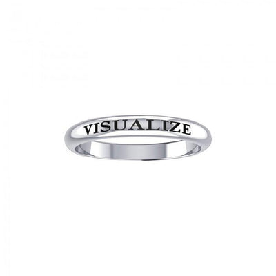 Visualize Silver Ring TRI419