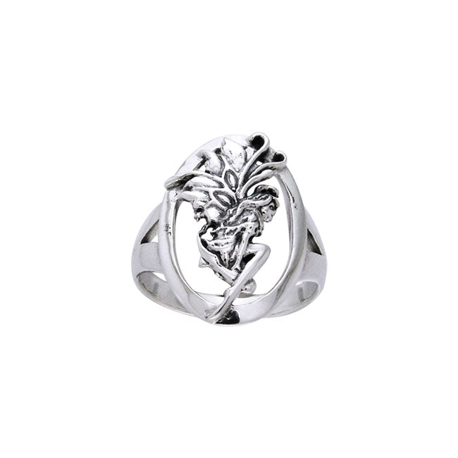 Birth of Magic Fairy Silver Ring TRI528
