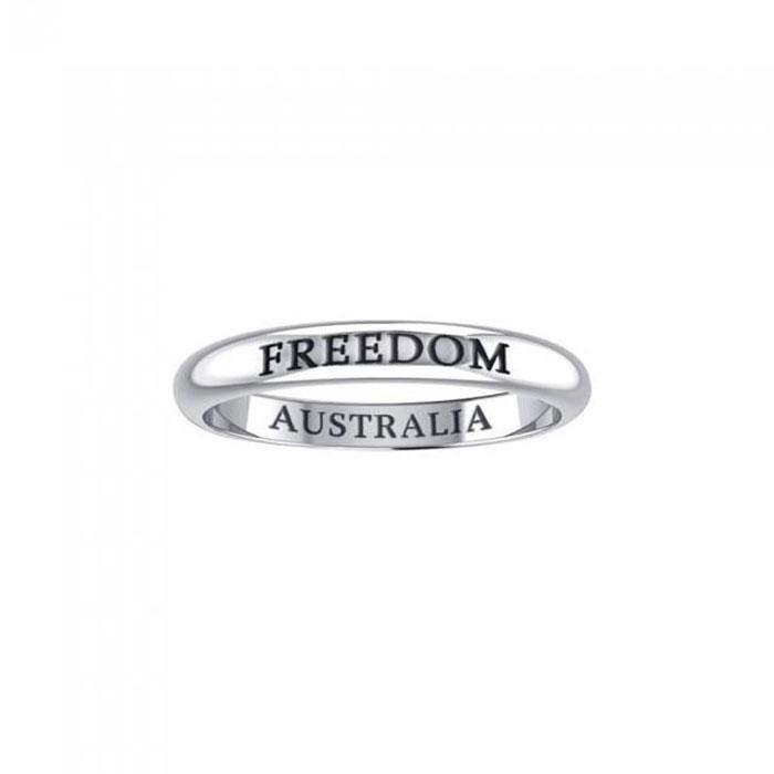 FREEDOM AUSTRALIA Sterling Silver Ring TRI616