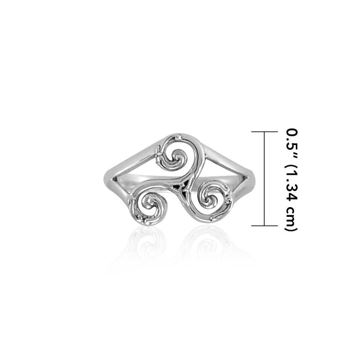 Triskele Silver Ring TRI660