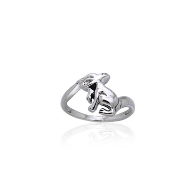 Hare Sterling Silver Ring TRI870