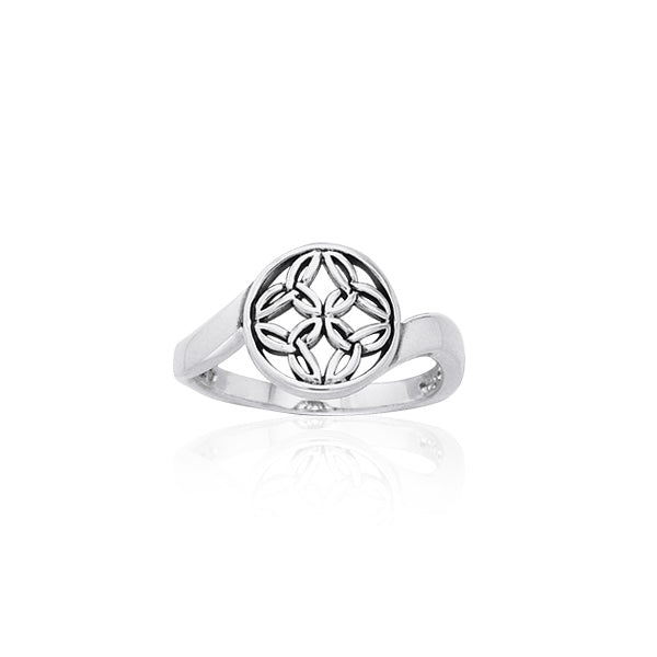 Celtic Silver Ring TRI891