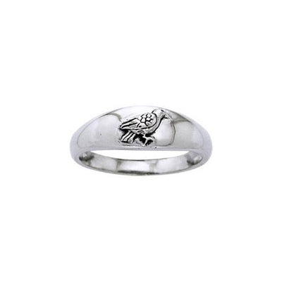 Raven Sterling Silver Ring TRI920