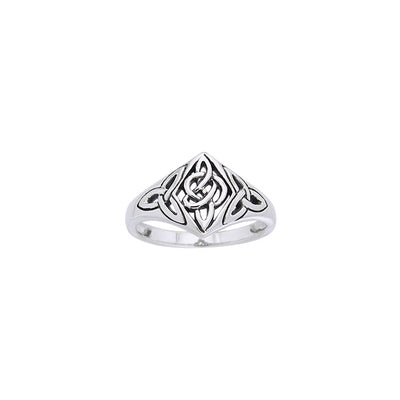 Celtic Ring with Trinity Knot TRI968