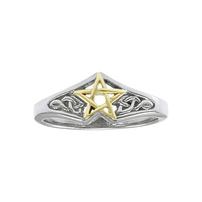 Celtic Knot The Star Ring TRV3813