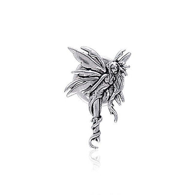 Amy Brown Firefly Fairy Sterling Silver Tie Tac TTT006
