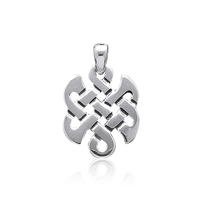 Contemporary Celtic Knotwork Silver Pendant WP014 Pendant