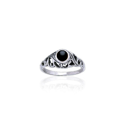 Filigree Sterling Silver Ring WR030