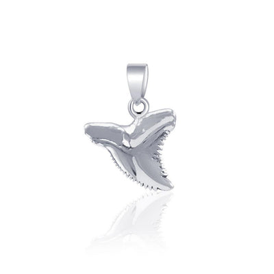 Shark Tooth Silver Pendant JP031